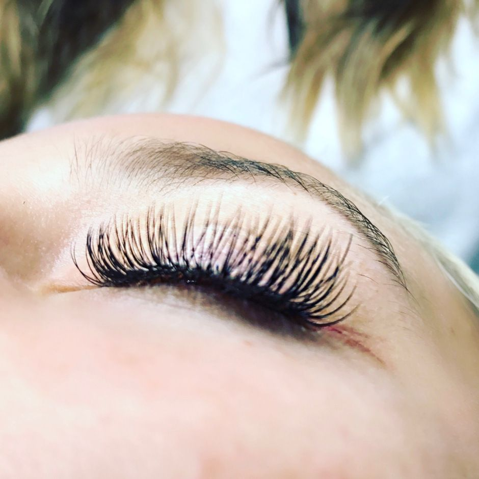 Eyelash Extensions Vs Lash Lift Eyelash Extensions Pinterest