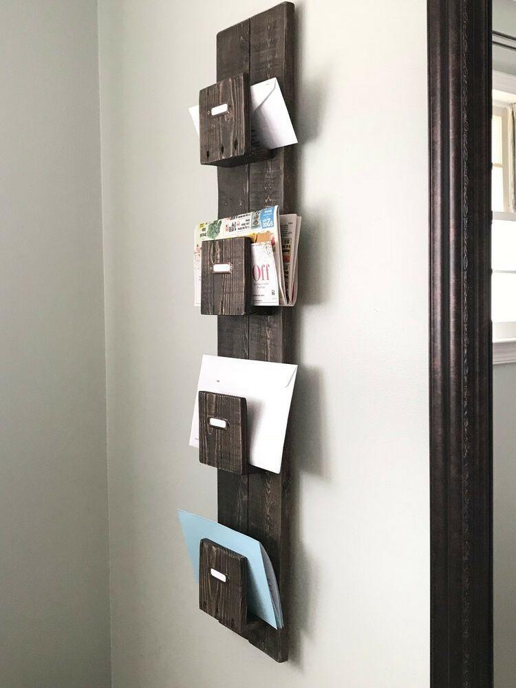 mail organizer wall