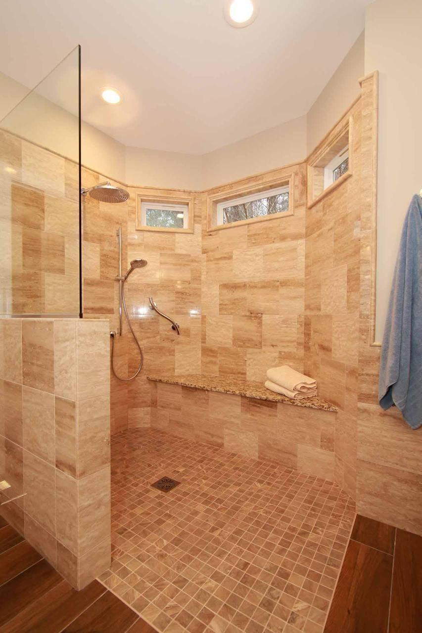 Level Entry Shower Waterproofing System Tile Shower next ...