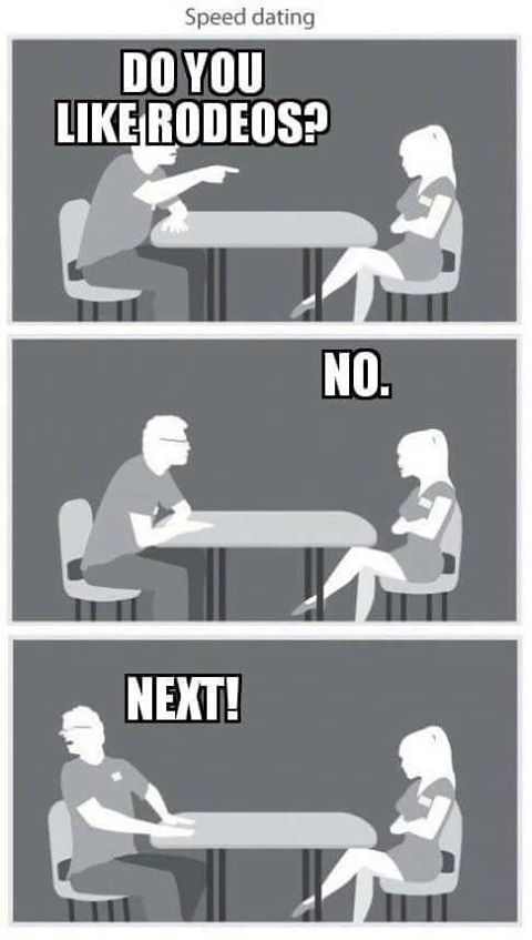 Hot big white speed dating her pussy
