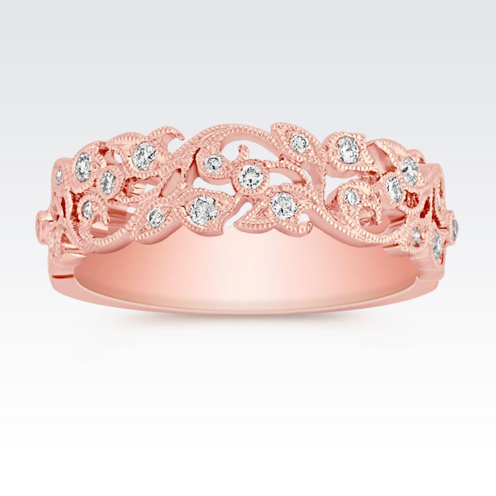 Shane Co. | Jewelry | Pinterest | Vintage diamond wedding bands ...