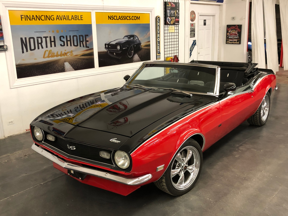 1968 Chevrolet Camaro -PRO TOURING-CONVERTIBLE-454 BIG BLOCK- NEW ARRIVAL  North…