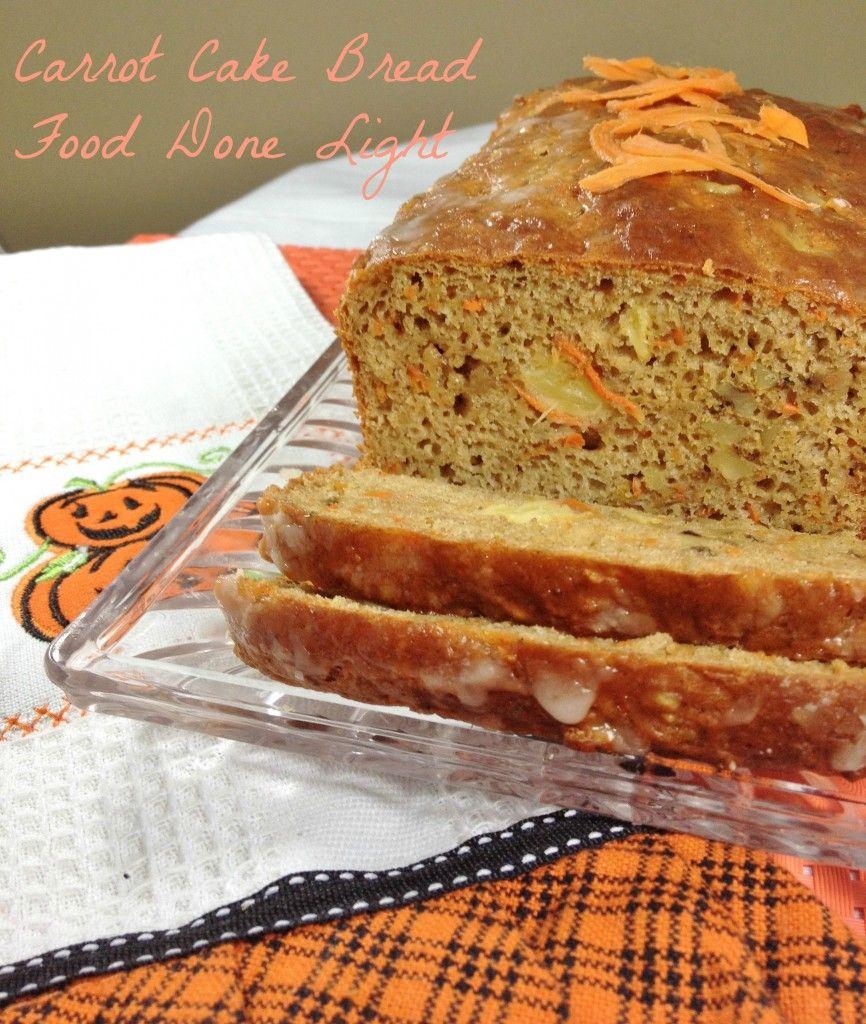 Low Fat Carrot Bread