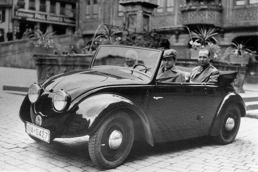 1935 Volkswagen Prototype V2