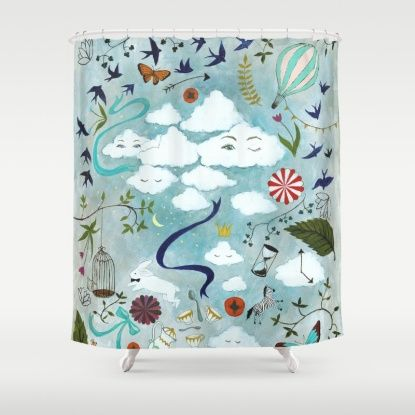 Let S Take The Train Shower Curtain With Images Shower Curtain