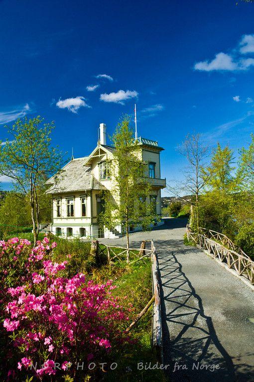 Troldhaugen, the home of the Norwegian composer Edvard Grieg
