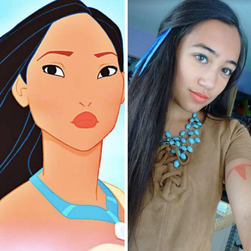 Check out Alexis N. as Pocahontas!! Pocahontas