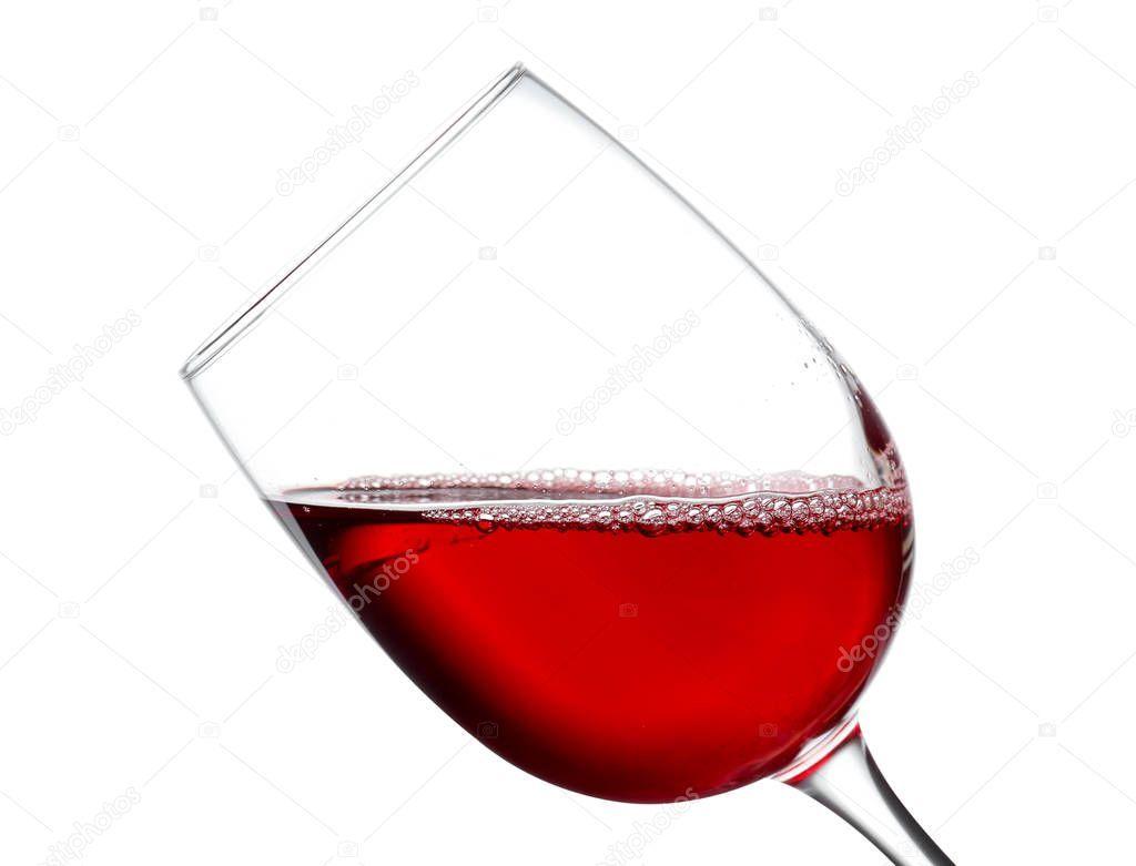 Glass Of Wine On White Background Stock Photo Aff White Wine Glass Photo Ad Glass Image Glass White Background