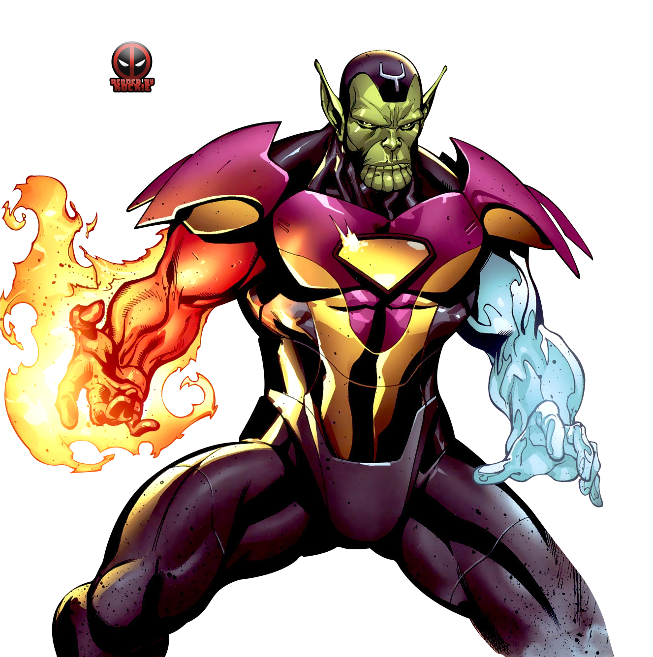 Image result for marvel super skrull Kl'rt