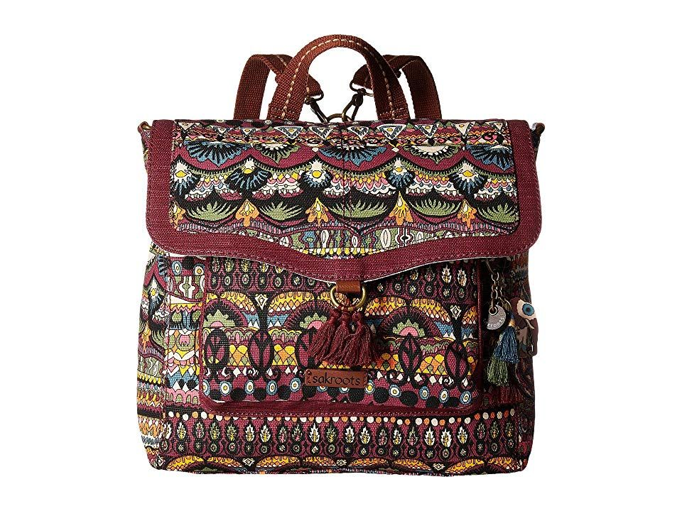 936d074dc Sakroots Colette Convertible Backpack (Mulberry One World) Backpack Bags.  Make your daily look