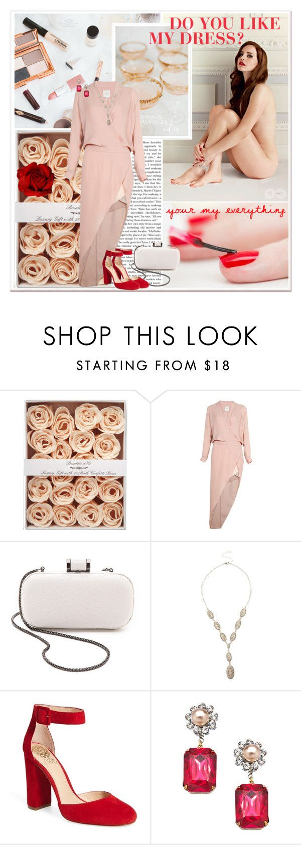 """DO YOU LIKE MY DRESS?"" by gustosa ❤ liked on Polyvore featuring Mason by Michelle Mason, Halston Heritage, Vince Camuto and John Wind"