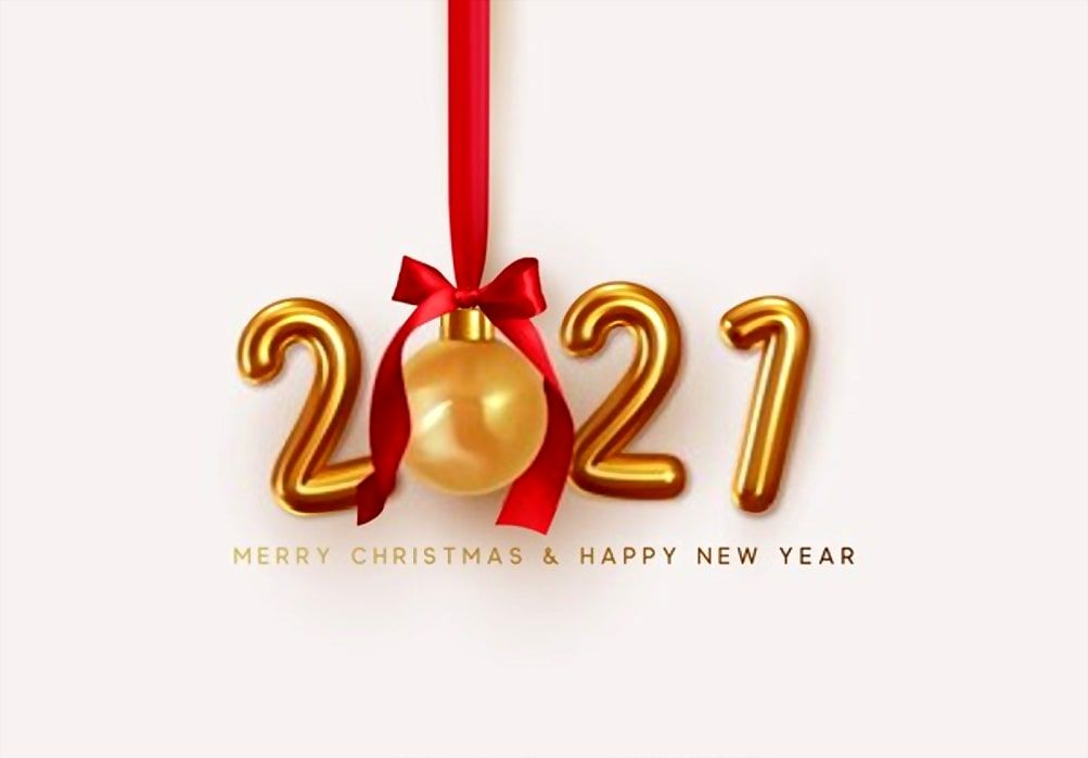 Stunning Happy New Year 2021 Wallpaper Happy New Year Wallpaper Holiday Gift Card Merry Christmas And Happy New Year