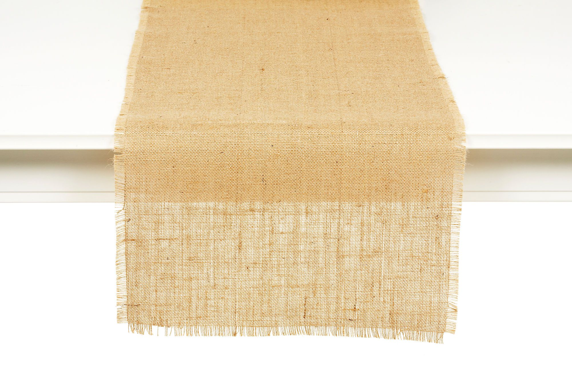 Burlap Natural Runner - great for organic and rustic tablescapes
