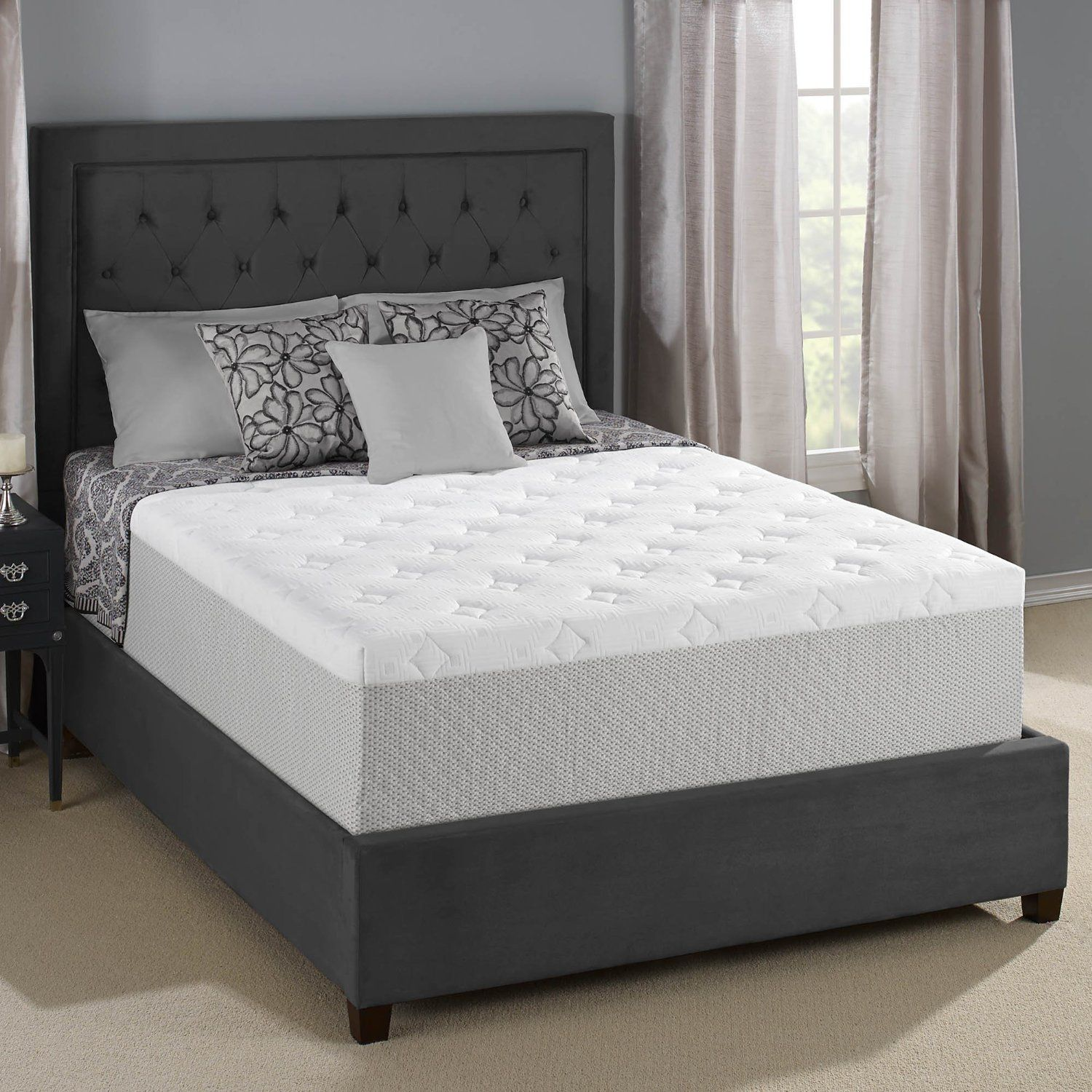 Serta 14 Inch Gel Memory Foam Mattress Review King Size Memory Foam Mattress Mattress Mattress Sets