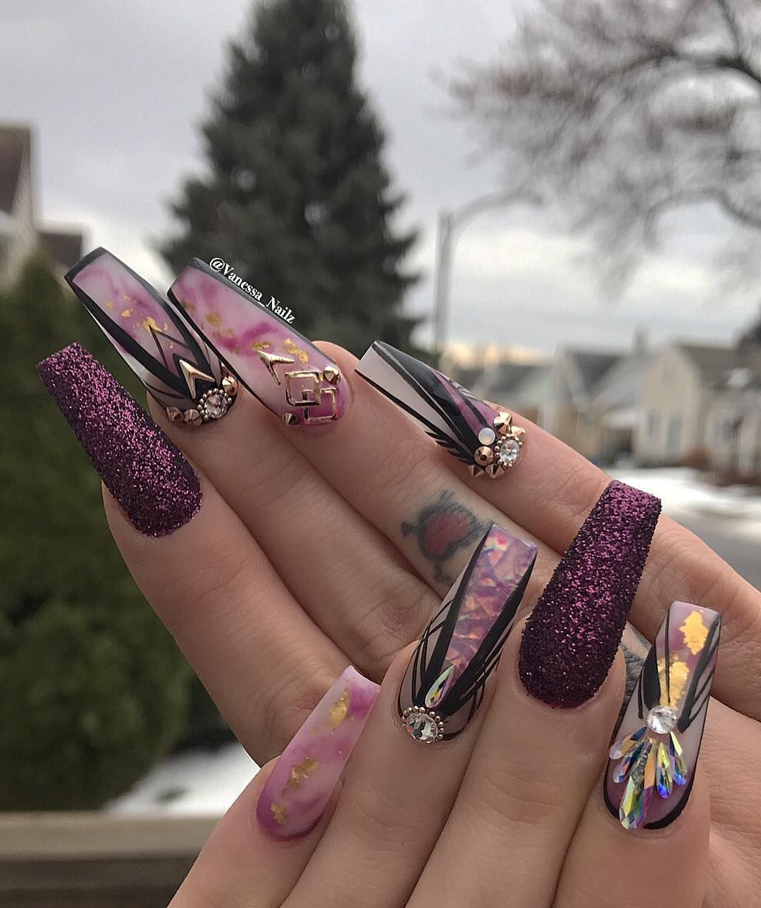 70 Most Beautiful 3d Nail Art Design Ideas For Trendy Girls: Pin By Bannessa Segundo On Nails