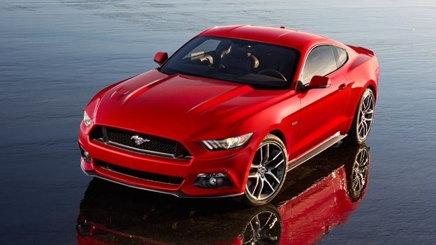 New 2015 Ford Mustang hits the UK