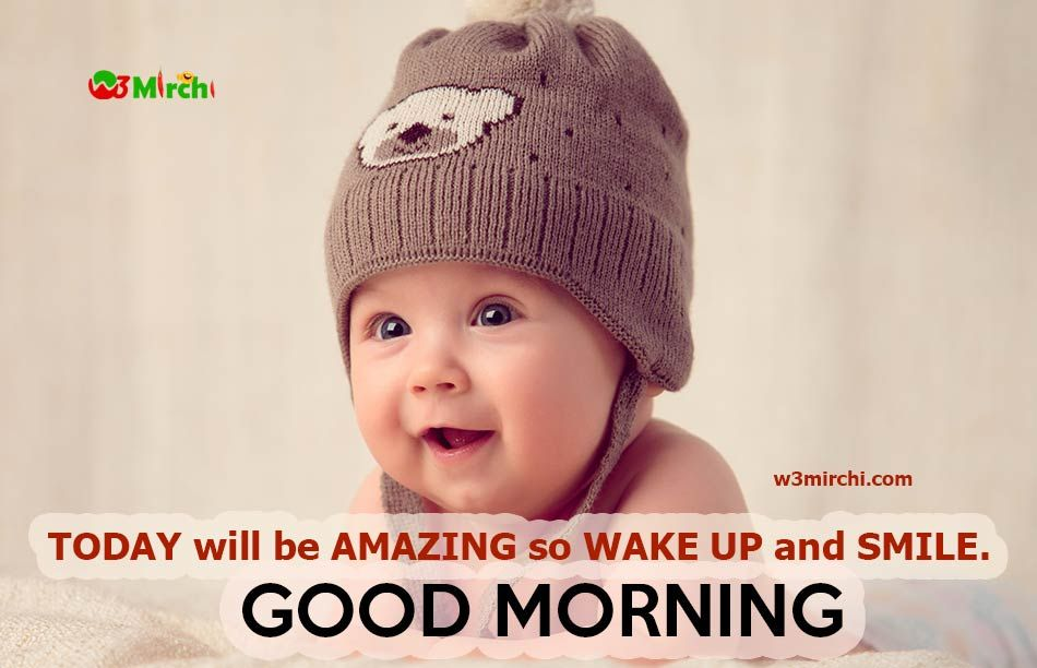 Good Morning Wishes Quotes For Baby