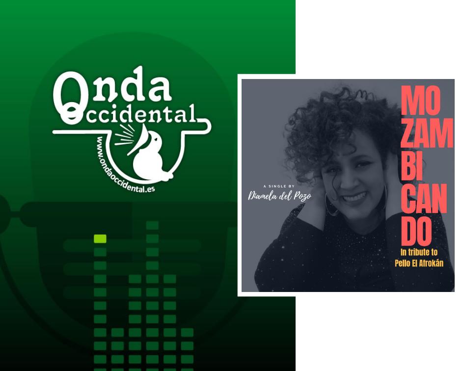 Gracias Mariano Escandón y a #Radio Onda Occidental Cantabria por radiar mi nuevo sencillo #Mozambicando 📻🎙️🎵🎶 #cantantecubana #diameladelpozo #newsingle #musicacubana #cubanmusic #pelloelafrokan #ontheradio #nowplaying #cantabria #cuba