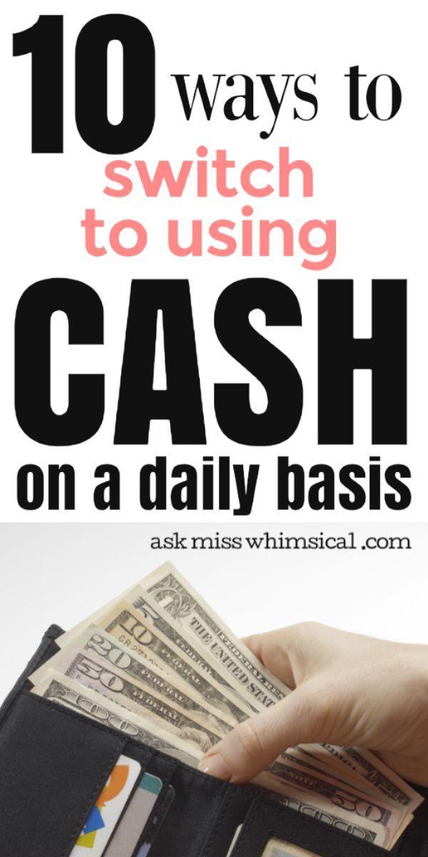 11 einfache Möglichkeiten, um zu einem Cash Only Lifestyle zu wechseln   – Frugal Life