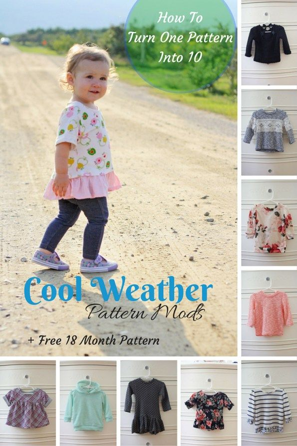 Cool Weather Mod Series and Free Pattern | Confeccion | Pinterest ...