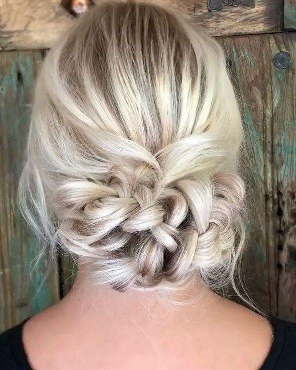 40+ gorgeous hair ideas for holiday party season 27