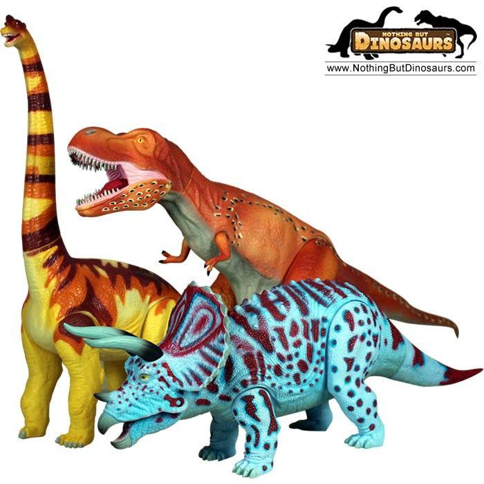Just like Dino Dan dinosaurs GeoWorld Jurassic Action Extra