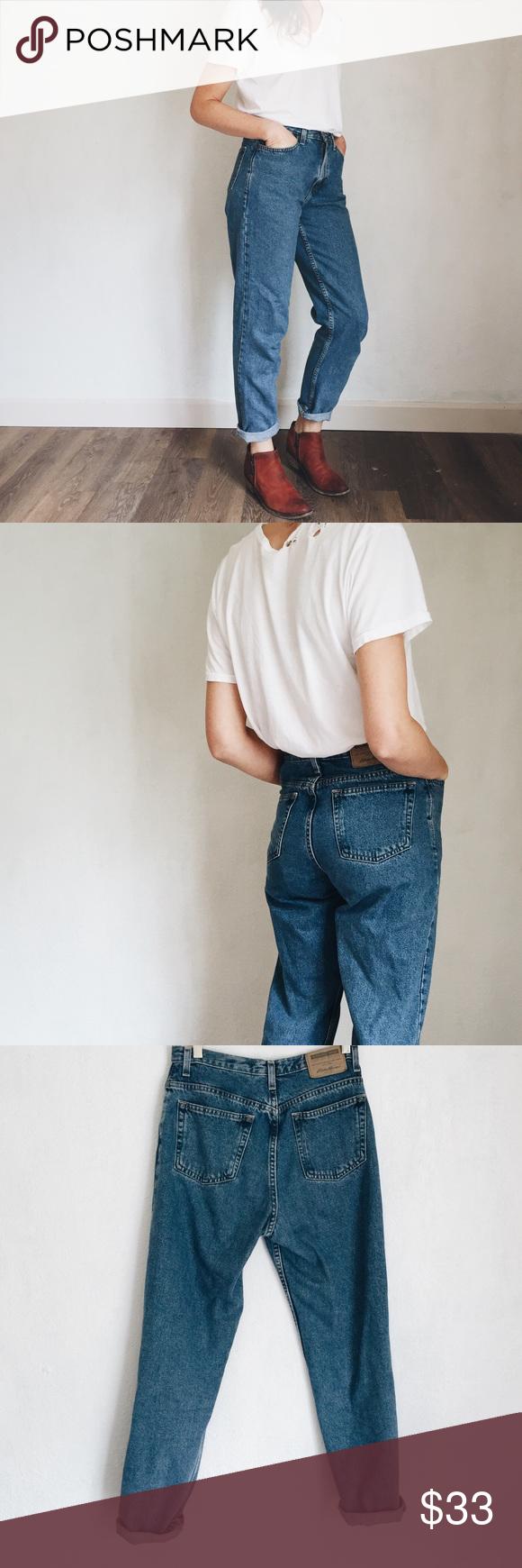Vintage High Rise Eddie Bauer Jeans High rise jeans