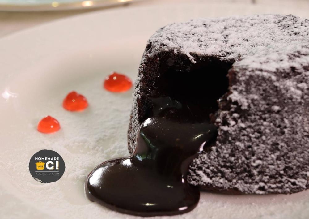 Resep Homemade Molten Lava Cake Oleh Moucup Resep Kue Chocolate Ganache Dark Chocolate