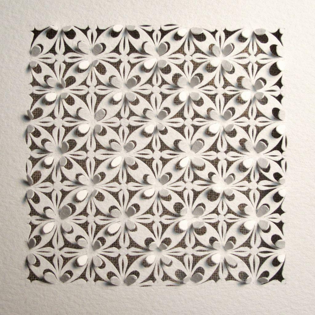 Diseños en papel calado, por Sara Burgess < Guerra Creativa