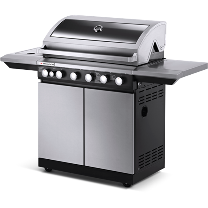 Matador 6 Burner Maverick Hooded BBQ Bbq, Gas grill