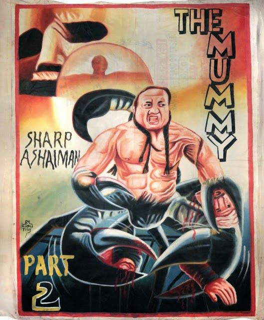 35 More Awesome Hand Drawn Movie Posters From Ghana Movie