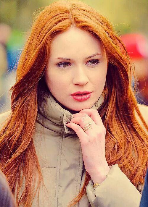 Gorgeous redhead doctor — pic 7