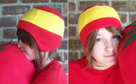 Spain flag hat - found on my etsy