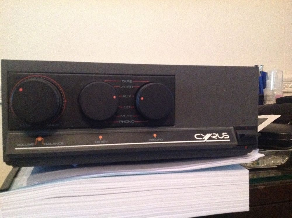 Cyrus 1 Integrated Amplifier in Sound & Vision, Home Audio & HiFi Separates, Amplifiers & Pre-Amps | eBay