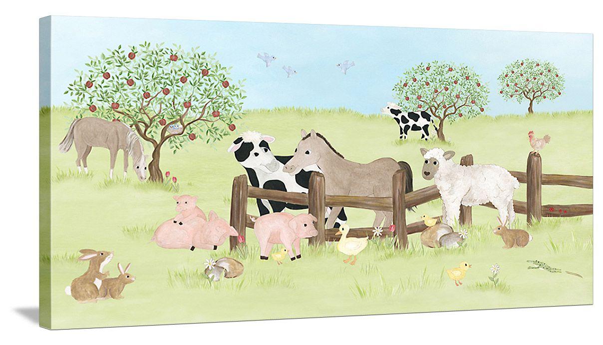 Farm Animal Friends - Canvas Wall Art   +Node   Pinterest   Friend ...