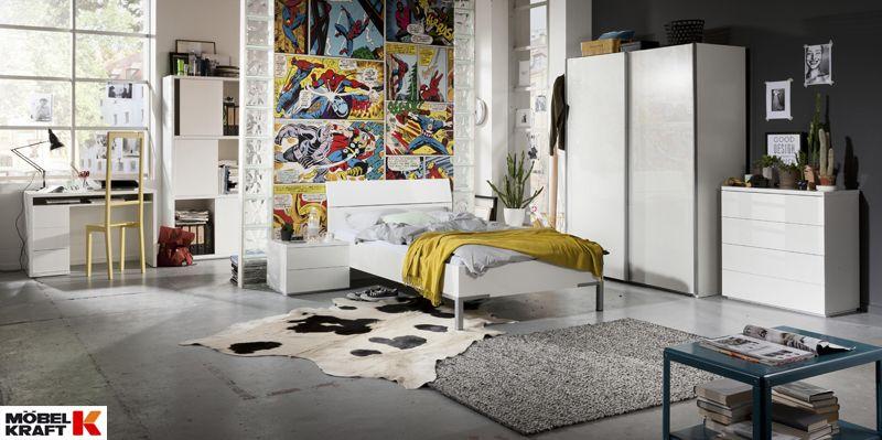 mobel kraft schlafzimmerschrank, schlafzimmer | arbeitszimmer, beide zimmer optimal vereint - entdeckt, Design ideen