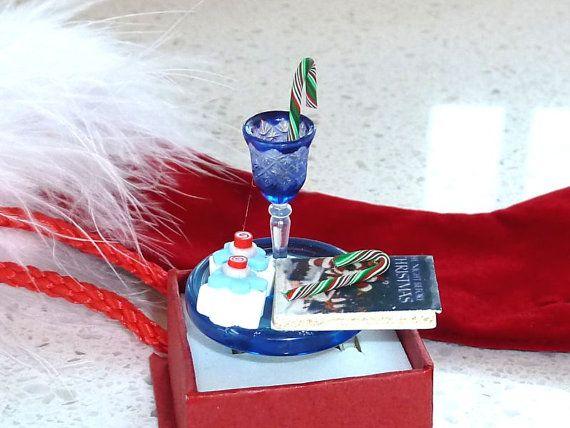 Kawaii Ring  A Christmas Plate of a Wine by OishisoBitsAndBites, $14.00