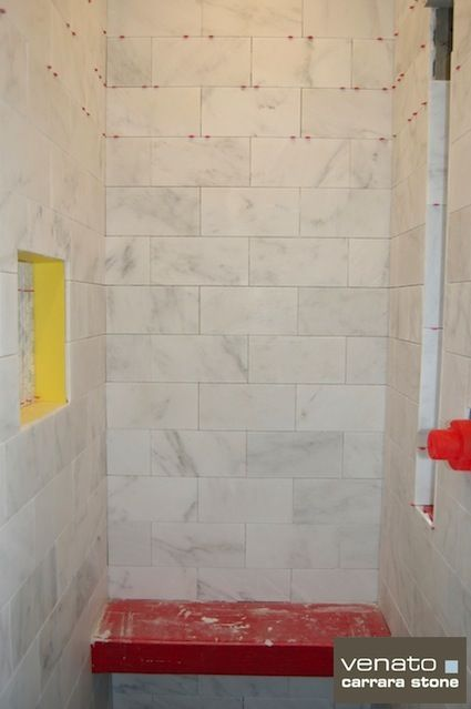 Carrara Venato Marble Tile Master Bath Ideas In 2018 Pinterest