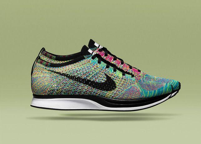 Nike Flyknit Racer Multicolor 2