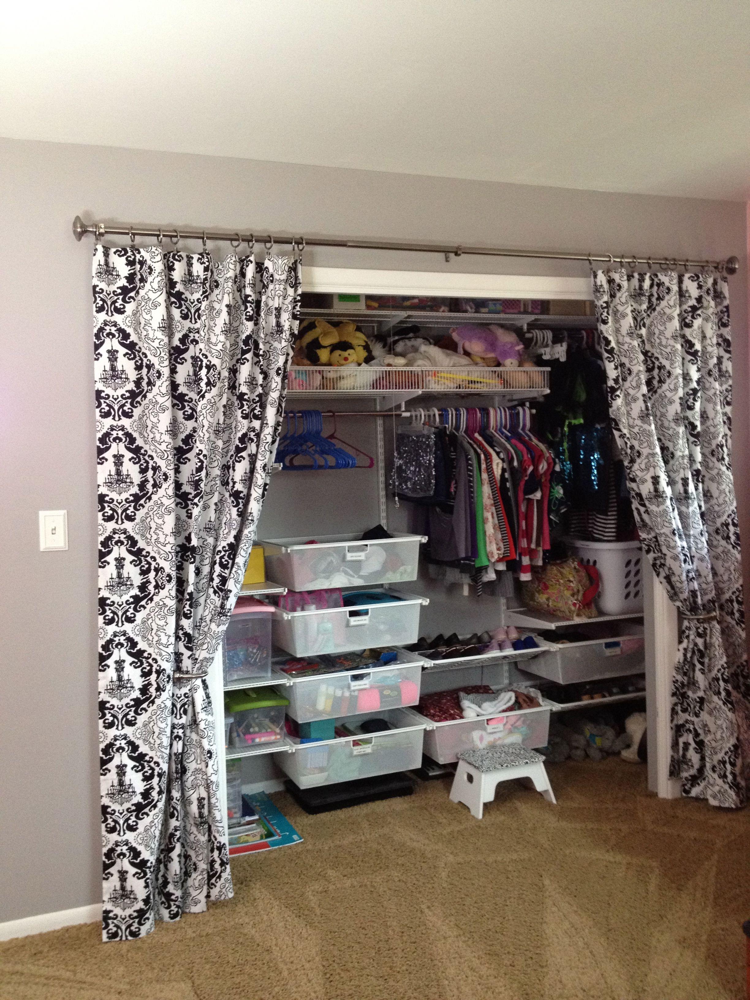Closet Doors, Doors And Closet Curtains