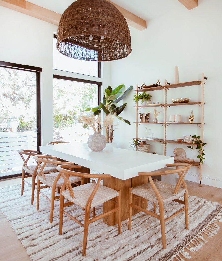 Cara Loren's Bohemian Dining Room Escape