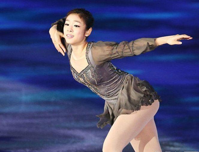 Beautiful, sexy figure skating