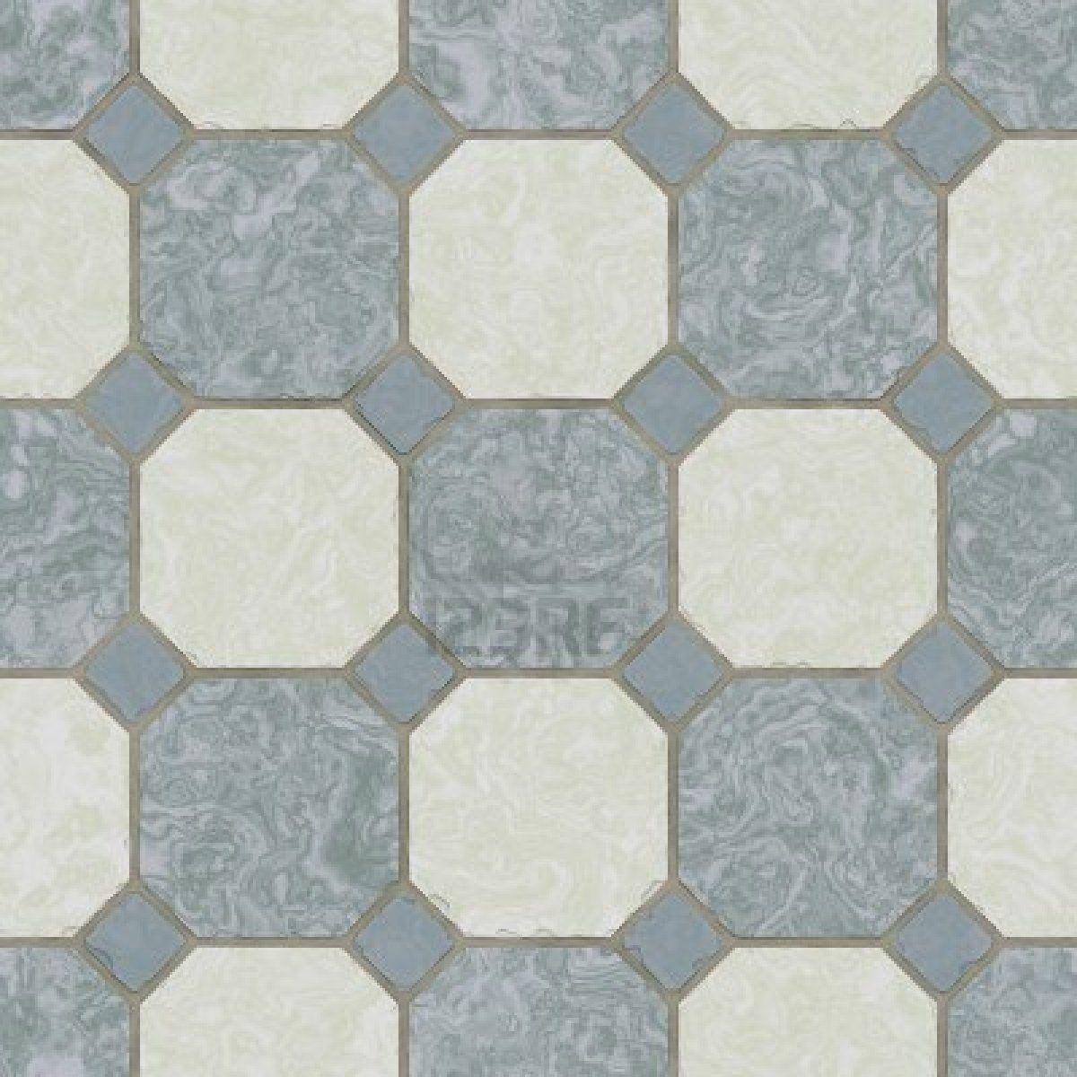 Ceramic Tile Kitchen Floor Seamless Texture Blue Tiles Kitchen Floor Tile Removable Wallpaper