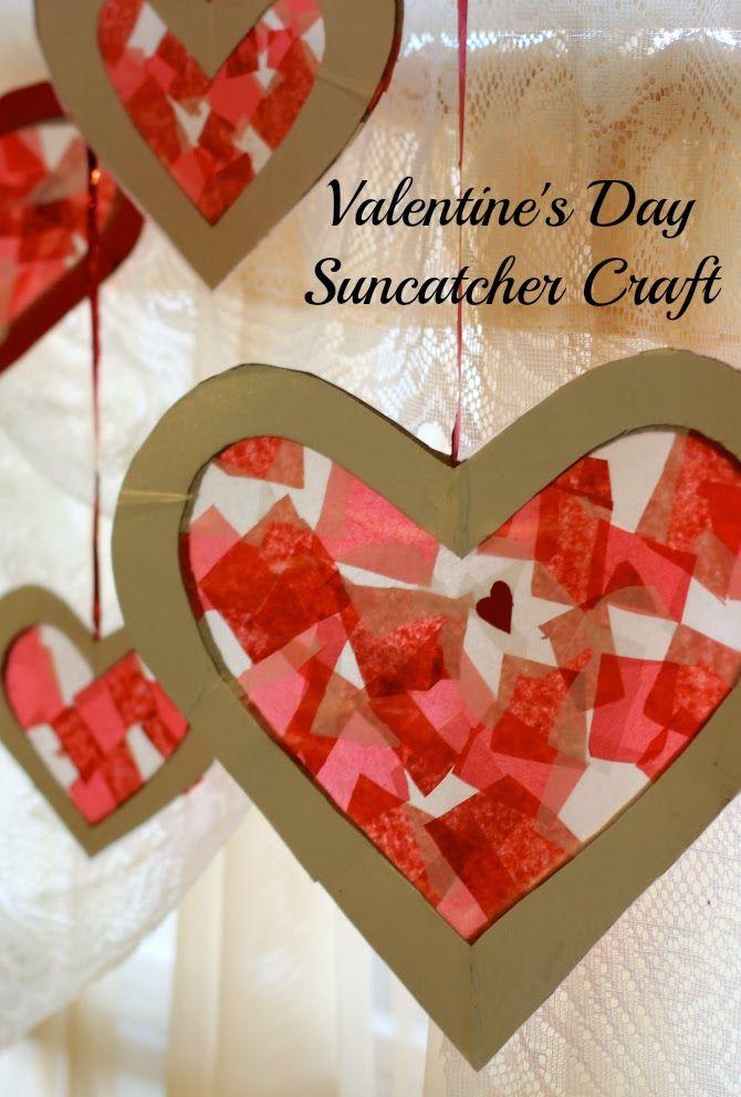 10 Valentine S Day Crafts For Kids Education Pinterest