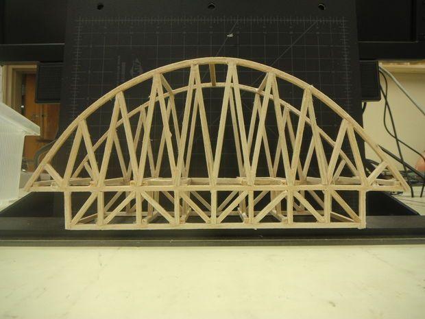 Balsa Bridge Bridge Model Bridge Design Bridge Engineering