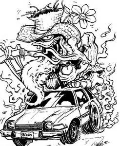 Rat Rod Coloring Pages Yahoo Image Search Results Coloring Rat Fink Coloring Pages