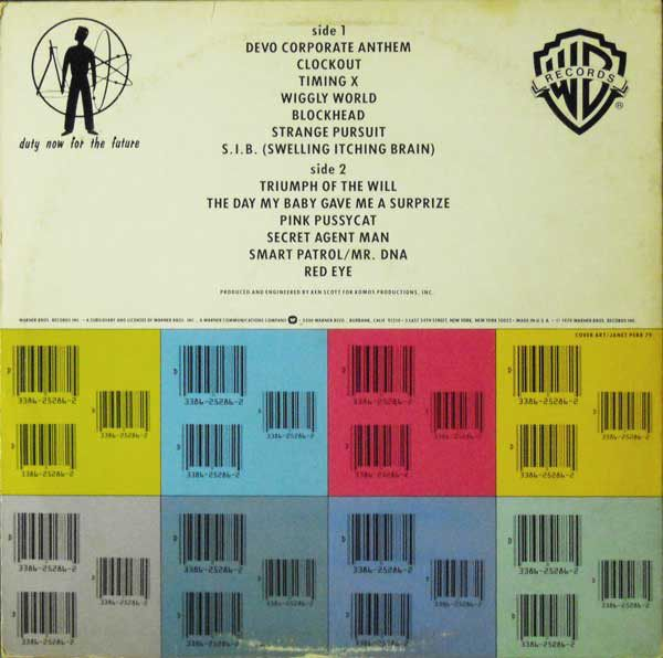 Devo Duty Now For The Future Vinyl Lp Album At Discogs Are We Not Men Give It To Me Duties