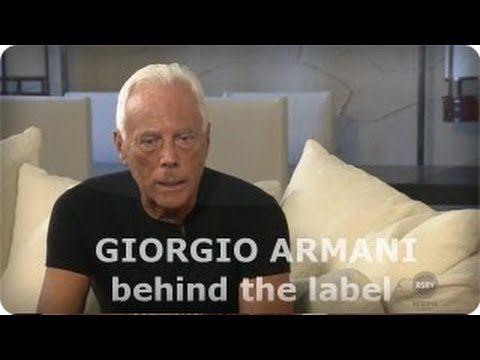 giorgio armani influences