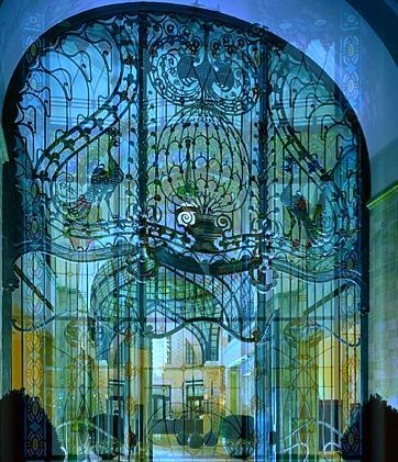 Gersham Palace Hotel Budapest The Intricate Railings Of The