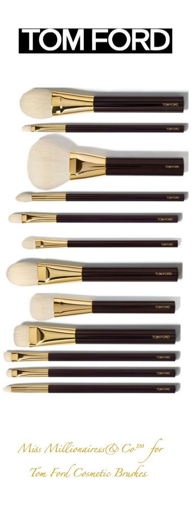tom ford cosmetic brushes accessories show it. Black Bedroom Furniture Sets. Home Design Ideas